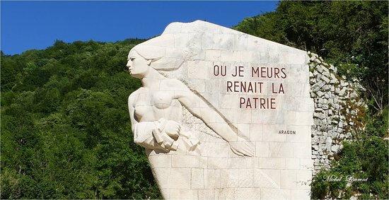 CERDON 01 Monument des maquis de l'AIN