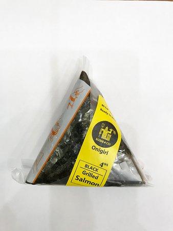 Onigiri ( Triangle Rice Bowl stuffed with Salmon or Spicy Tuna)
