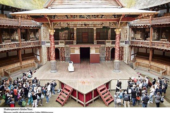 Visites guidées au Shakespeare's Globe avec pause thé l'après-midi en...