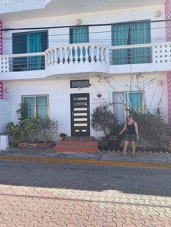 Front of Villa Elena