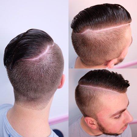 Disconnected Undercuts Short Mens Haircut Bild Von Mk Beauty Barber Lounge Albany Tripadvisor