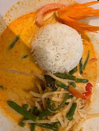 Excellente cuisine thaï pour déjeuner