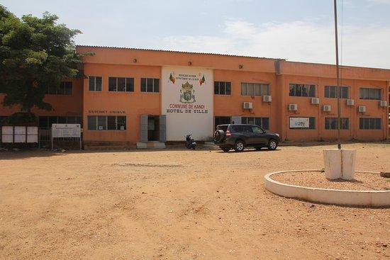 Kandi, Benin: Maison de la Ville