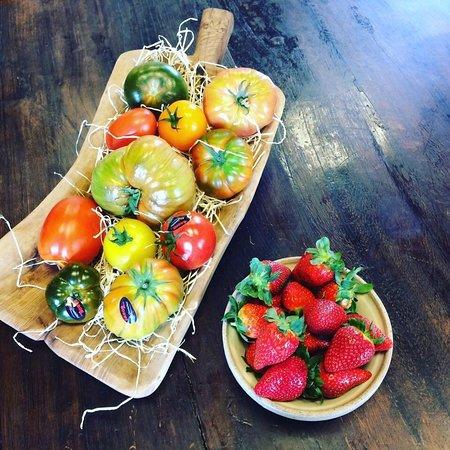 Les belles tomates colorées 😍😍
