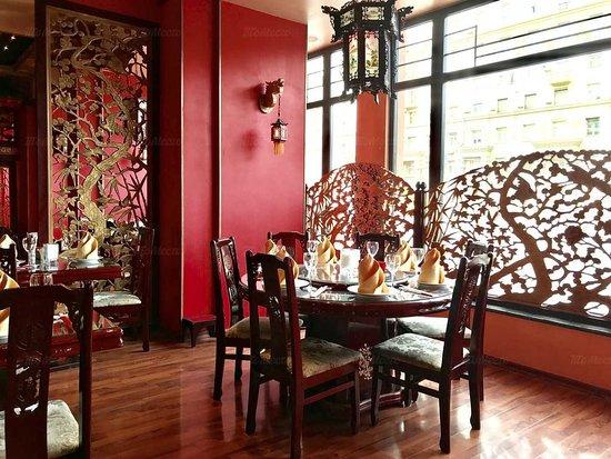 Moskova, Venäjä: Интерьер выполнен в традиционном китайском стиле.