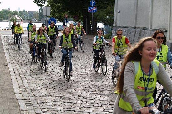 Tägliche Fahrradtour durch Riga