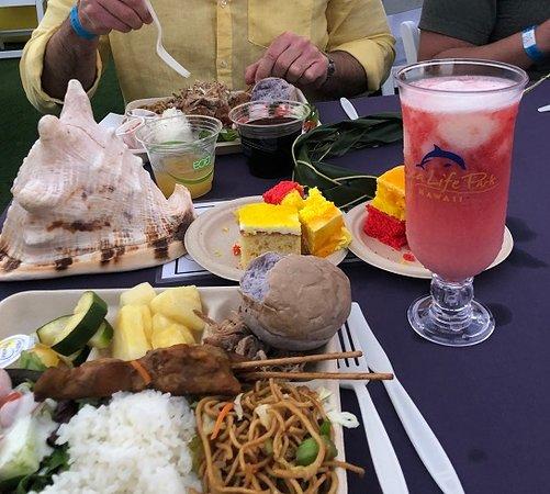 Ka Moana Luau: Food was blah