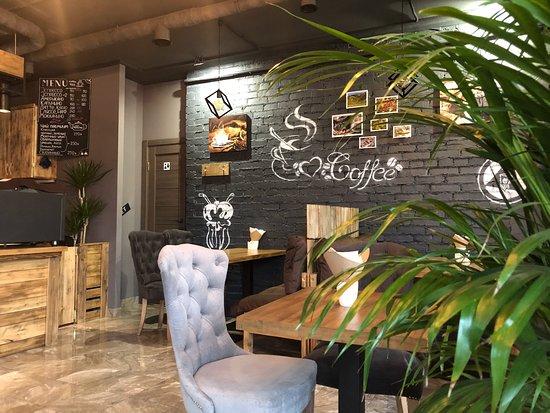 Balashikha, Venäjä: Уютная Кофейня Кейфкрафт Авторское меню Пицца и сочные бургеры Десерты и напитки