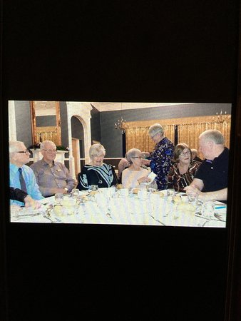 Great care and attention taken to accommodate all who were travelling,together at one table