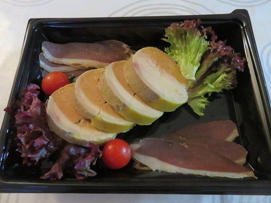 Pierrefontaine-les-Varans, Francia: excellent foie gras