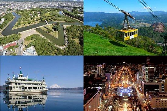 Hokkaido Enjoy Pass (Sapporo, Lake Toya, Hakodate) Abholung: Neuer...
