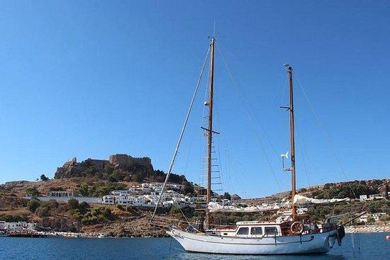 從林多斯(Lindos)出發,享受愛琴海(Aegean Sea)八小時