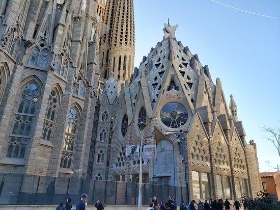 Basilica of the Sagrada Familia Admission Ticket with Tower Access: Lateral del templo