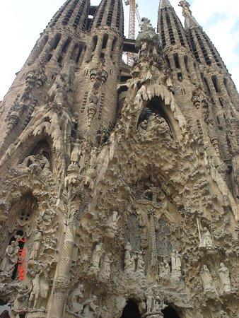 Basilica of the Sagrada Familia Admission Ticket with Tower Access: Fachada