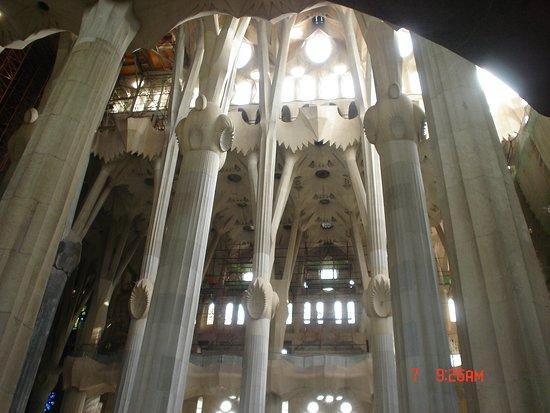 Basilica of the Sagrada Familia Admission Ticket with Tower Access: Interior del templo