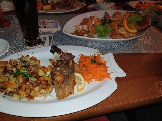 Zempin, Németország: Fischplatte
