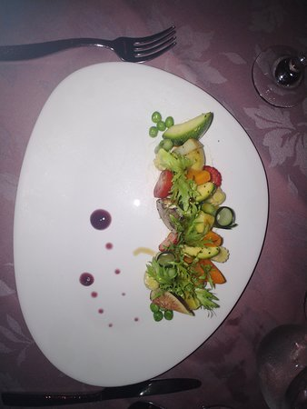 Salad at Paramour restaurant