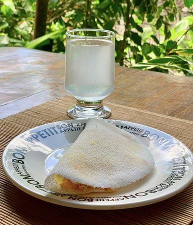 Pode pedir tapioca ou omelete feitos na hora no café da manhã!