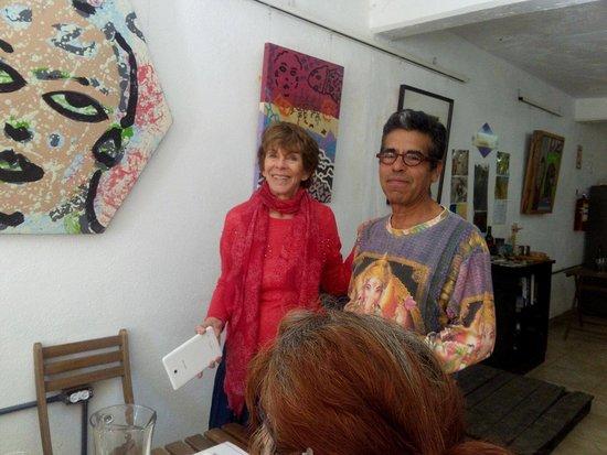 El Sauzal de Rodríguez, Мексика: Carol Roper, Sergio Zenteno