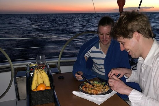 Gita al tramonto in barca a vela Luxus