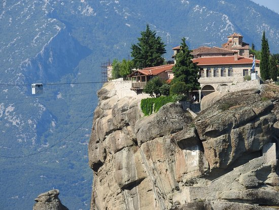 One of the many monasteries of Meteora