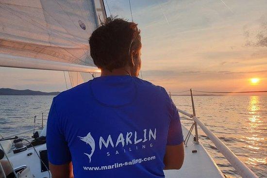 Private sunset sailing tour in Zadar...