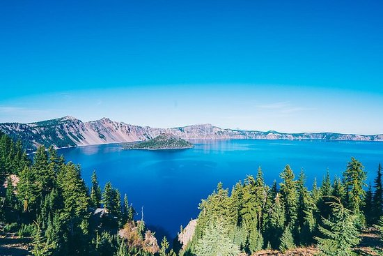 2 day tour to from Eugene to Crater Lake