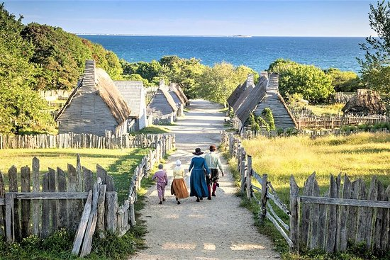 Boston til Plymouth Day-Trip med Plimoth Plantation & Plimoth Grist...
