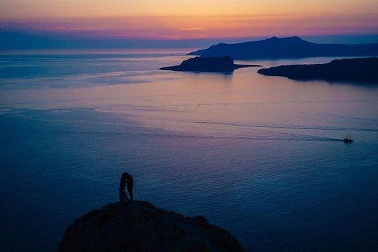 Visite privée à Santorin avec coucher...