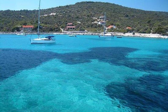 Blaue Lagune und Trogir Town...