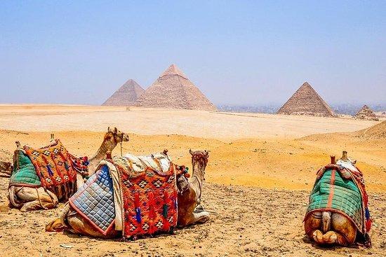 Vôo de Sharm El Sheikh para o Cairo e...