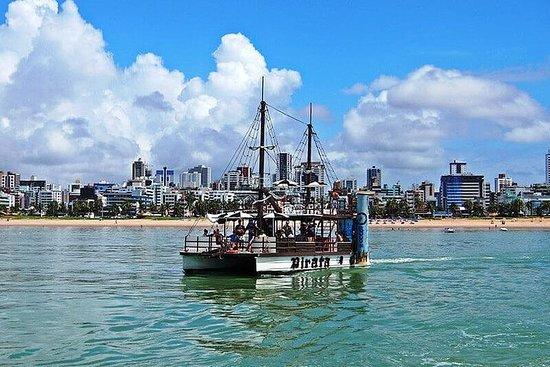 Picãozinho Natural Pools Tour - Pirate Vessel - João Pessoa-PB