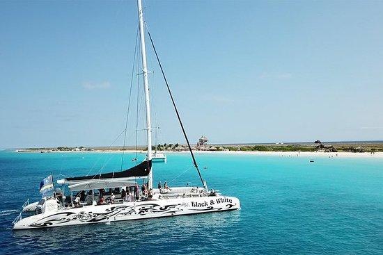 Klein Curacao with Sailing Catamaran...