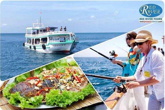 紅河遊-An Thoi群島的私人VIP乘船遊覽