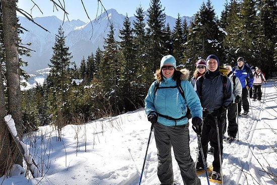Snowshoeing in High Tatras: Zdiar to Bachledova Valley