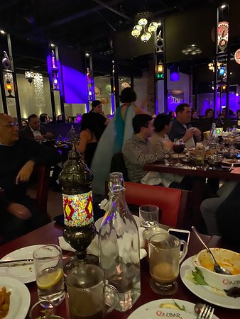 Amazing dinner and belly dance show
