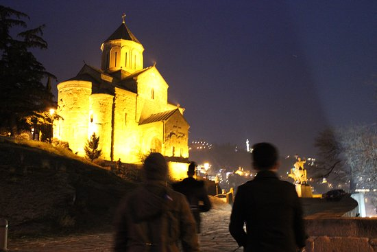 Tbilisi city walking Tour with local guide: Night tour