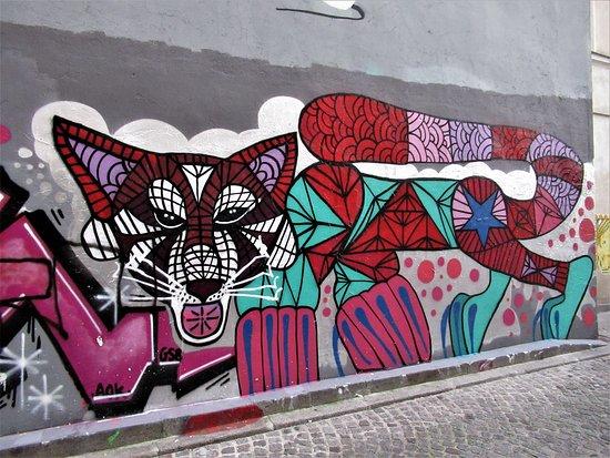 """Fresque """"Husky et cobra"""""""