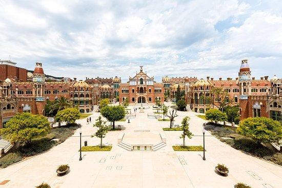 バルセロナのRecinte Modernista de Sant Pau入場…