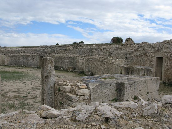 Makthar, Тунис: Амфитеатр