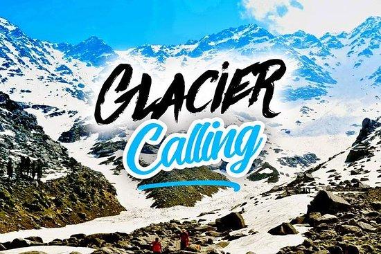Trekking et Camping dans le Glacier...