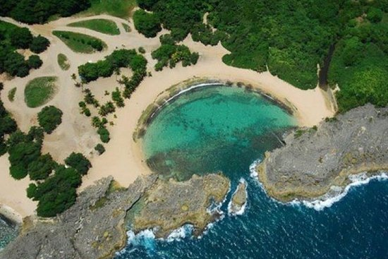 Private Mar Chiquita Beach and Birth of a New World Monument from San...