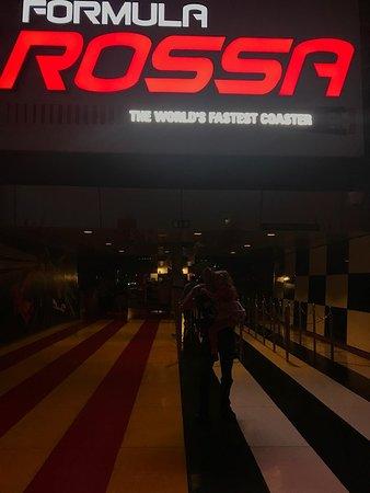 Ferrari World Abu Dhabi Admission Ticket: The Rossa - fastest roller-coaster in the world at Ferrari World