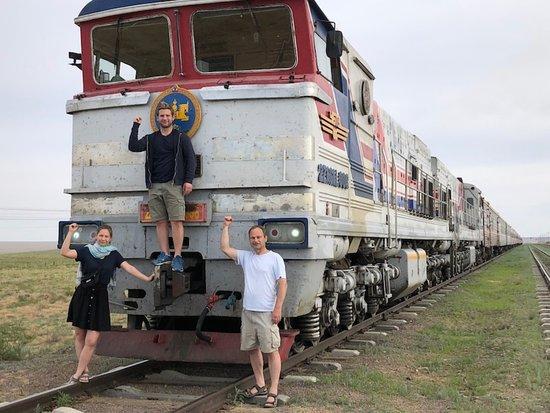 Et stopp i Gobi-ørkenen