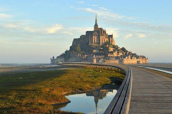 與當地司機Mont Saint-Michel一起從雷恩開始一日遊 -  6小時
