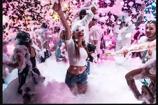 Alanya Night Disco Boat Tour Met Foam ...