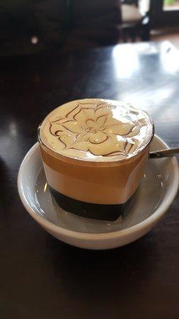 Egg coffee @_@ yummy