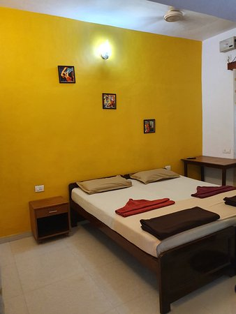 Double bed standard air conditioned room