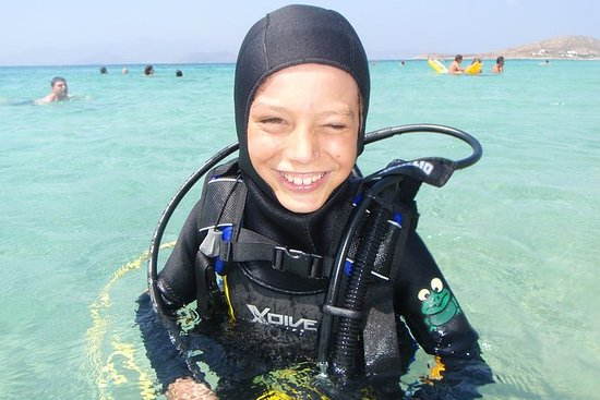 Discover scuba diving on a private base.