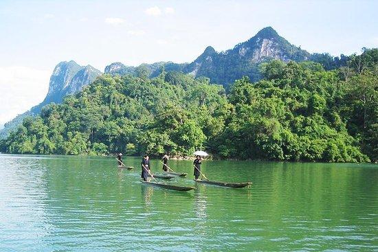 Ba Be lake Ban Gioc fossefall gruppetur 3 dager 2 netter